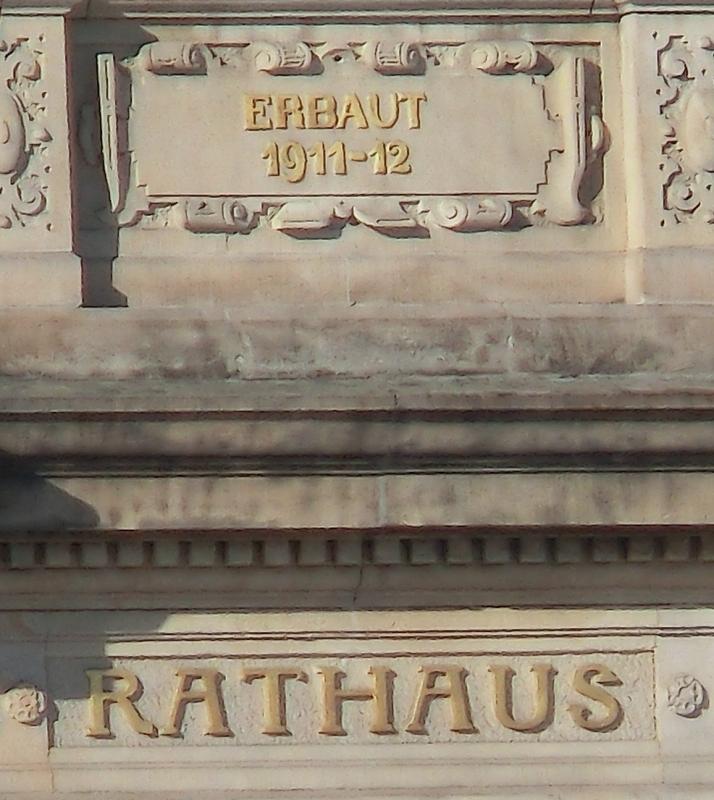 Detail Rathaus