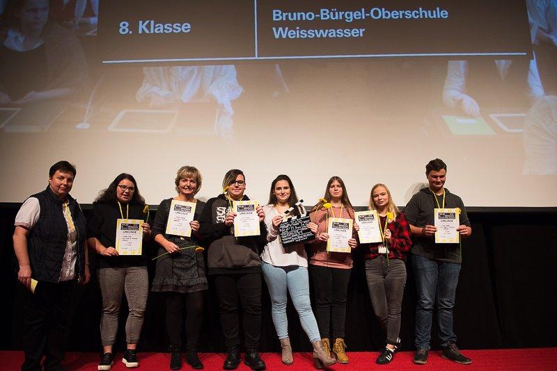 Foto vom 8. Sächsischen Schülerfim Festival